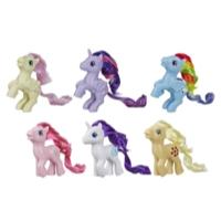 My Little Pony Retro Rainbow Mane 6 -- 80s-Inspired My Little Pony Collectable Figures