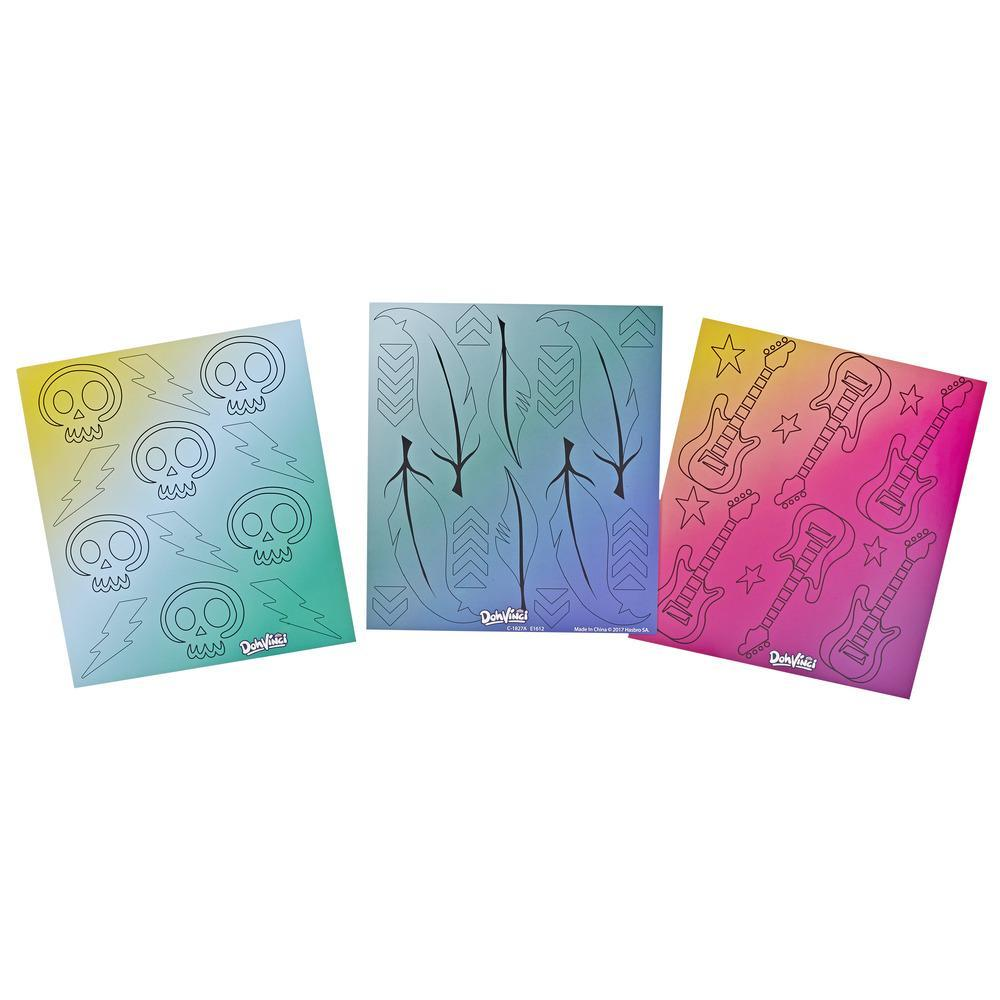 DohVinci Patterns Themed Art Boards by Play-Doh