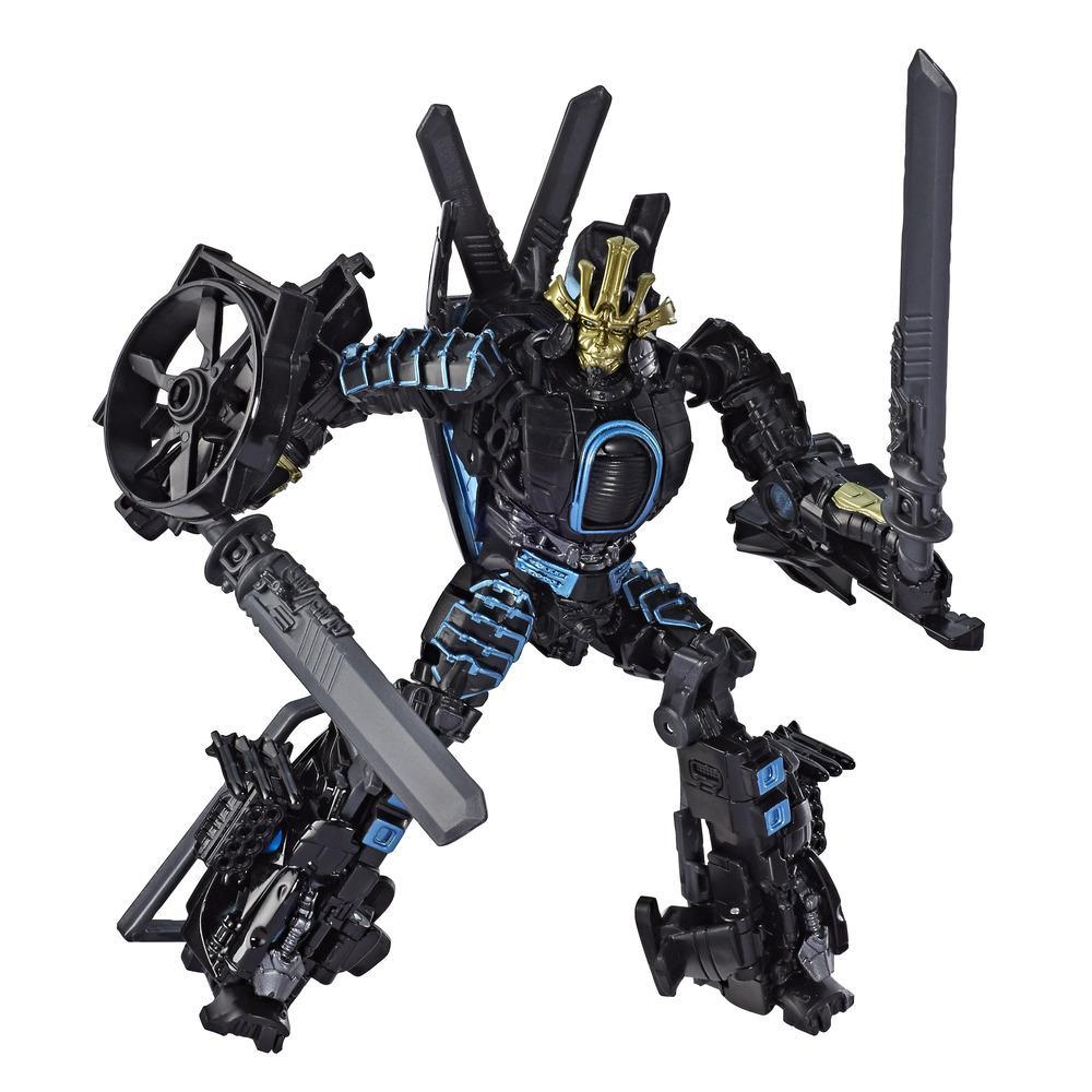 Transformers Toys Studio Series 45 Deluxe Class Transformers: Age of Extinction Movie Autobot Drift Action Figure