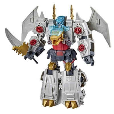 Transformers Bumblebee Cyberverse Adventures Dinobots Unite Ultimate Volcanicus Action Figure, Ages 6 and Up, 9-inch