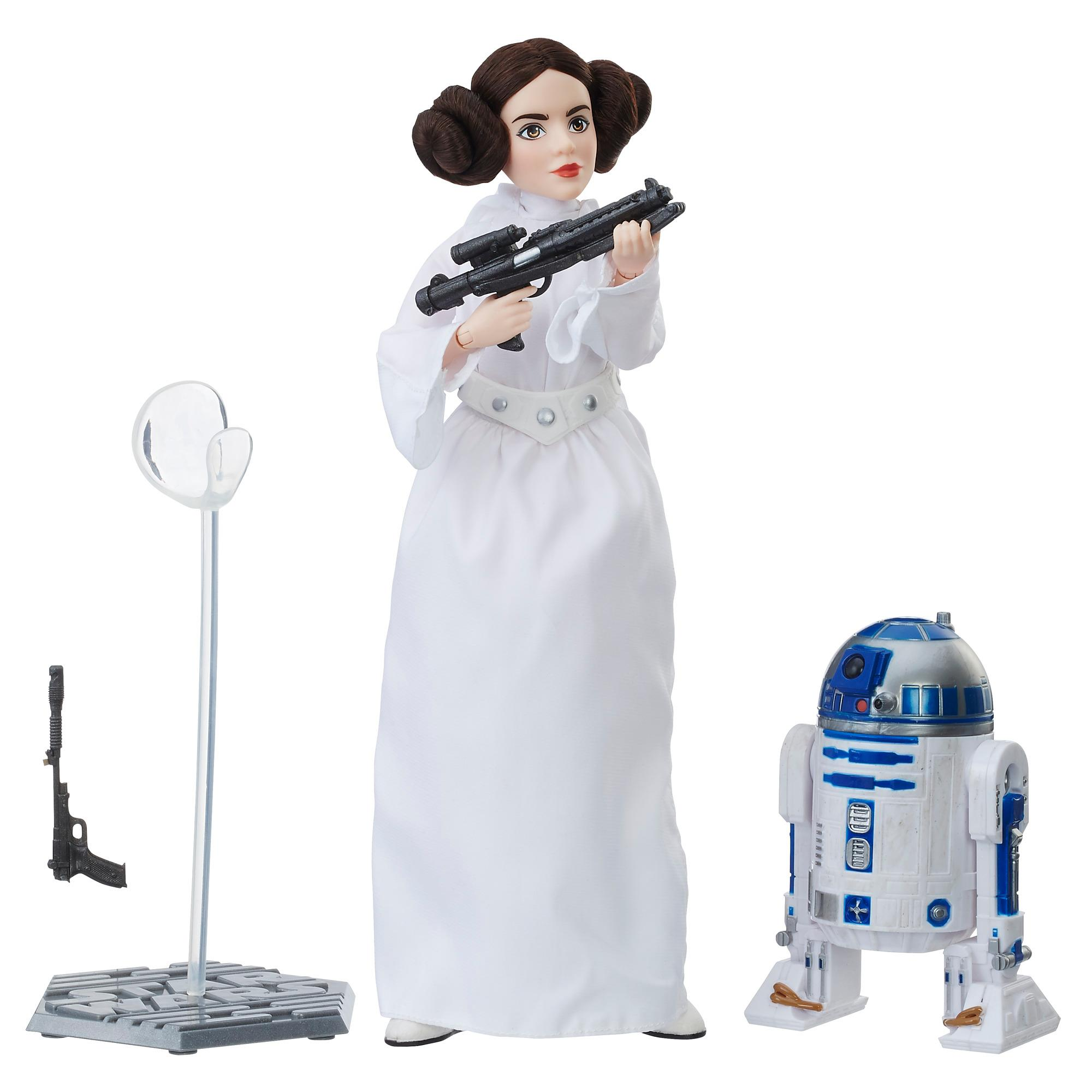 Star Wars Forces of Destiny Princess Leia Organa Platinum Edition Figure