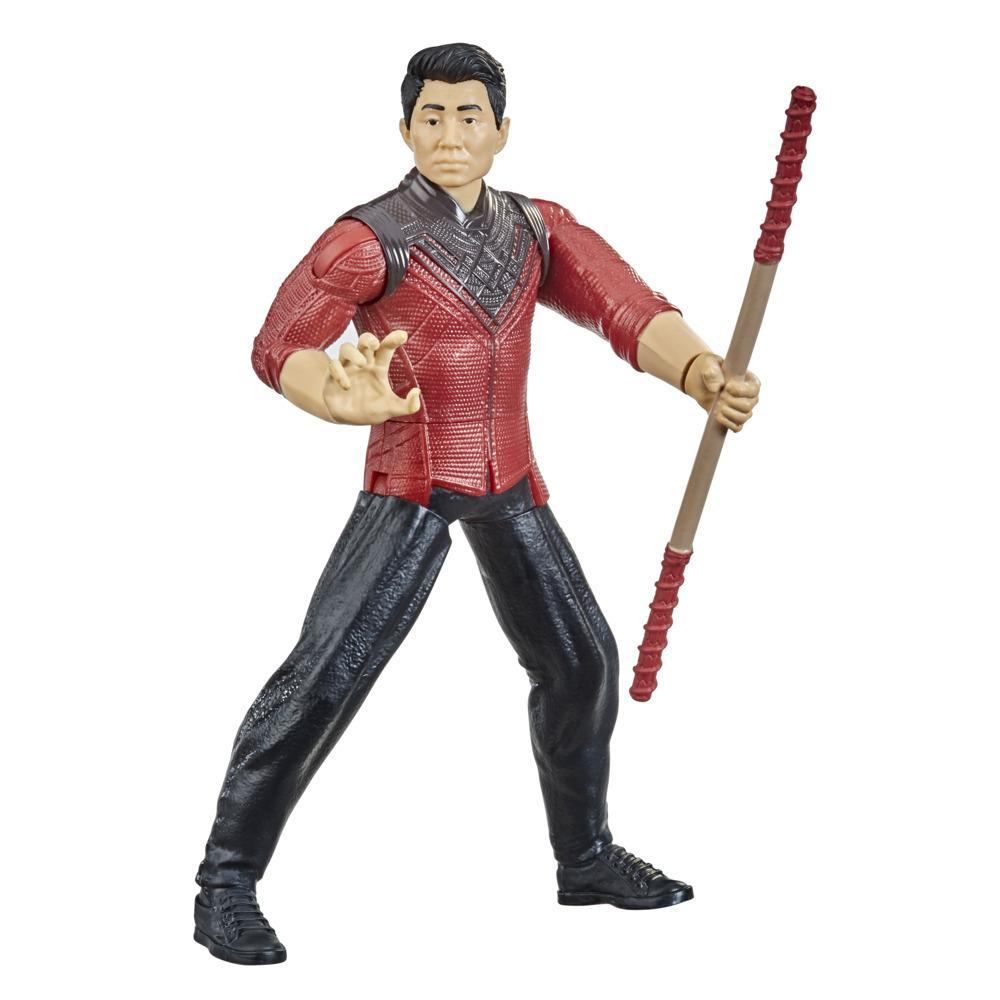 Marvel Shang-Chi And The Legend Of The Ten Rings Shang-Chi Action Figure Toy With Bo Staff Attack Feature! For Kids Age 4 And Up