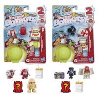 Transformers Toys BotBots Series 5 Los Deliciosos 5-Pack – Mystery 2-In-1 Collectible Figures - Kids Ages 5 and Up