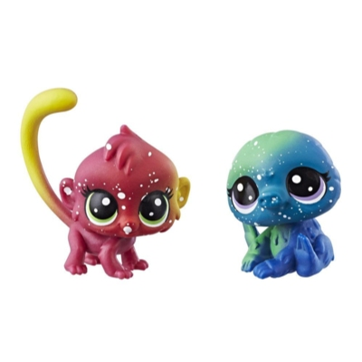 Littlest Pet Shop Cosmic Pounce BFFs (Monkey/Sloth)