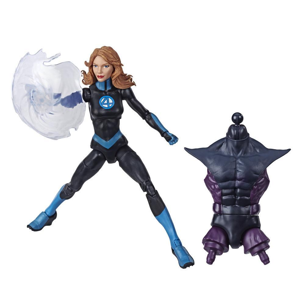 Marvel Legends Series Fantastic Four 6-inch Collectible Action Figure Marvel's Invisible Woman, 1 Accessory, 1 Build-A-Figure Part