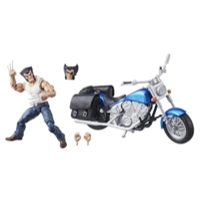 Marvel Legends Series 6-inch Wolverine and Motorcycle
