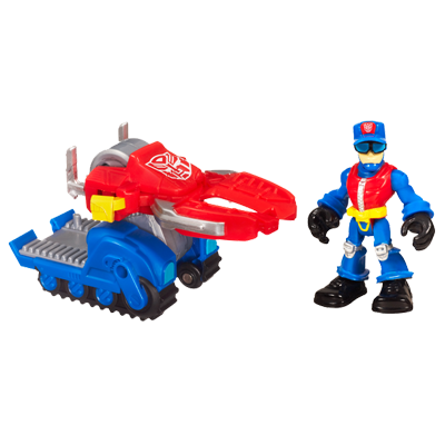 TRANSFORMERS RESCUE BOTS PLAYSKOOL HEROES CHIEF CHARLIE BURNS and Rescue Cutter