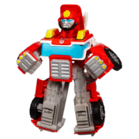 TRANSFORMERS RESCUE BOTS PLAYSKOOL HEROES HEATWAVE THE FIRE-BOT