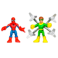 MARVEL Super Hero Adventures PLAYSKOOL HEROES SPIDER-MAN and DOC OCK