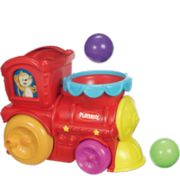 PLAYSKOOL POPPIN' PARK ROLL 'N POP EXPRESS