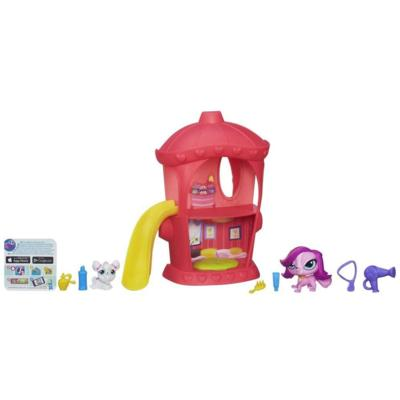 Littlest Pet Shop Hydrant Hangout Playset