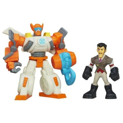 Playskool Heroes Transformers Rescue Bots Blades the Copter-Bot & Dr. Morocco Figure Pack