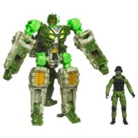 TRANSFORMERS DARK OF THE MOON MECHTECH HUMAN ALIANCE Sergeant Cahnay and CROSSHAIRS
