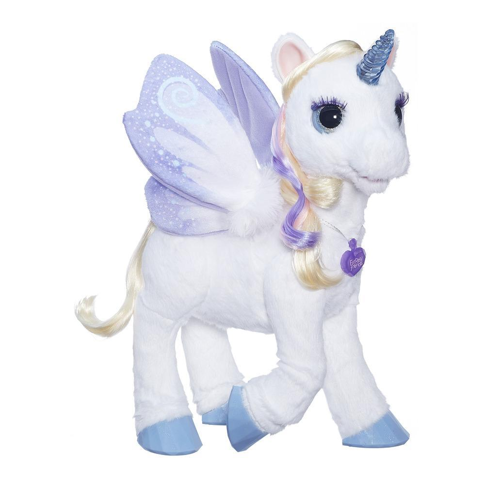 furreal friends starlily my magical unicorn furreal friends. Black Bedroom Furniture Sets. Home Design Ideas