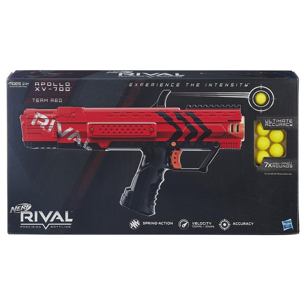 Nerf Rival Apollo XV-700  Blaster (RED)