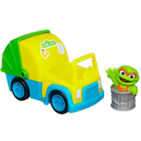 PLAYSKOOL SESAME STREET Oscar the Grouch's Garbage Truck