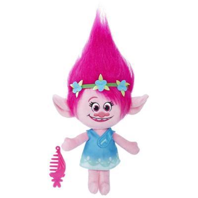 DreamWorks Trolls Poppy Talkin' Troll Plush Doll