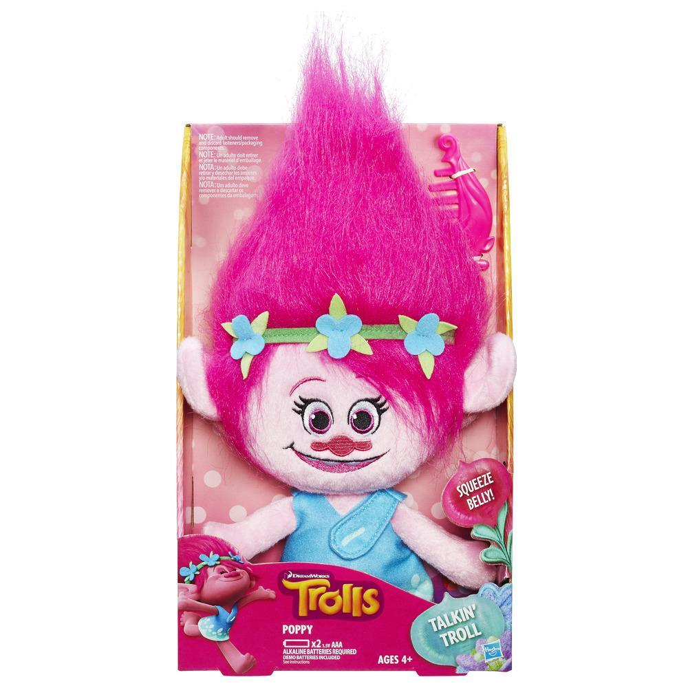 DreamWorks Trolls Poppy Talkin' Troll Plush Doll