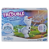Trouble Disney Frozen Olaf's Ice Adventure Game for Kids Ages 5 and Up