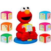 PLAYSKOOL SESAME STREET Elmo's Find & Learn Alphabet Blocks