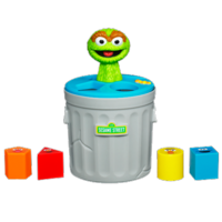 PLAYSKOOL SESAME STREET Oscar the Grouch Shape Sorter