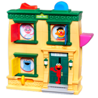 PLAYSKOOL SESAME STREET HIDE 'N SEEK PALS Playset