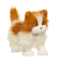 FURREAL FRIENDS LULU'S WALKIN' KITTY (White and Orange)