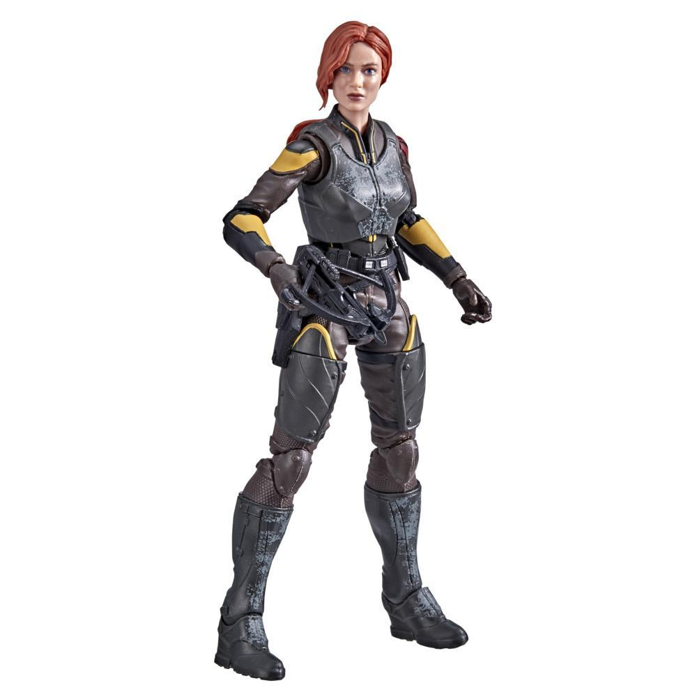 G.I. Joe Classified Series Snake Eyes: G.I. Joe Origins Scarlett Action Figure Collectible 20 Toy with Accessory