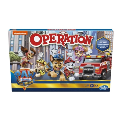 Operation Game: Paw Patrol The Movie Edition Board Game for Kids Ages 6 and Up, Nickelodeon Paw Patrol Game