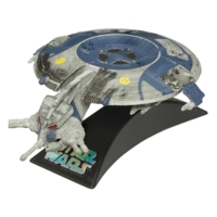 Star Wars TITANIUM SERIES Die-Cast Droid Gunship