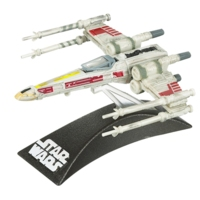 Star Wars TITANIUM SERIES Die-Cast Luke Skywalker's Red Five X-Wing