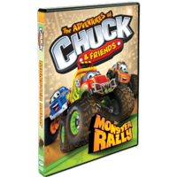 The Adventure of Chuck & Friends Monster Rally DVD