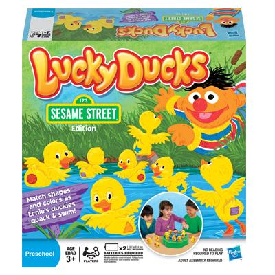 LUCKY DUCKS SESAME STREET Edition