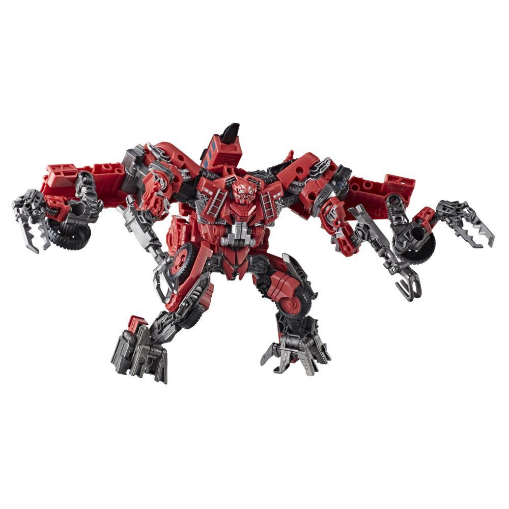 Transformers Toys Studio Series 66 Leader Revenge of the Fallen Constructicon Overload Action Figure - 8 and Up, 8.5-inch
