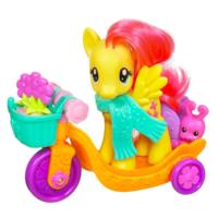MY LITTLE PONY RIDING ALONG WITH FLUTTERSHY TRICYCLE