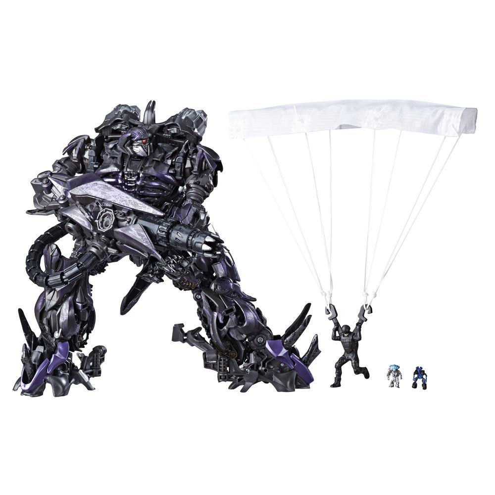 Transformers Toys Studio Series 56 Leader Class Transformers: Dark of The Moon Shockwave Action Figure - 8.5-inch
