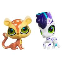 Littlest Pet Shop Totally Talented 2-Pack (Zebra & Cheetah)