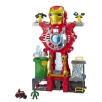Playskool Heroes Marvel Super Hero Adventures Iron Man Headquarters