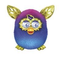 Furby Boom Crystal Series Figure (Purple to Blue)