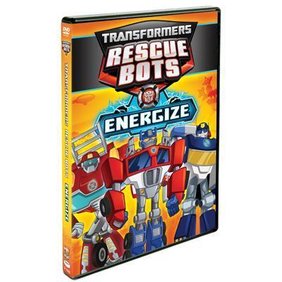 Transformers Rescue Bots Energize DVD