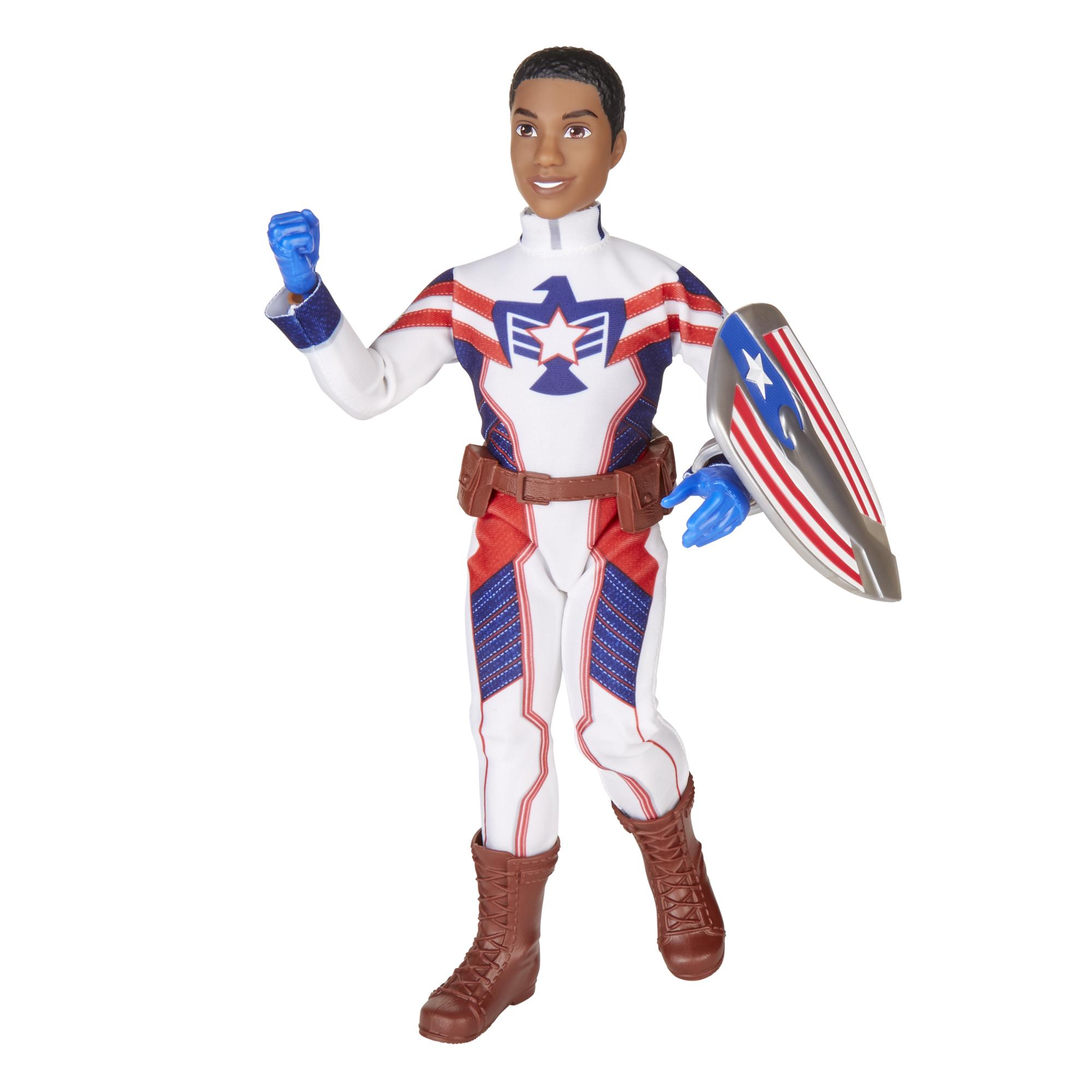 Marvel Rising Secret Warriors Marvel's Patriot Doll