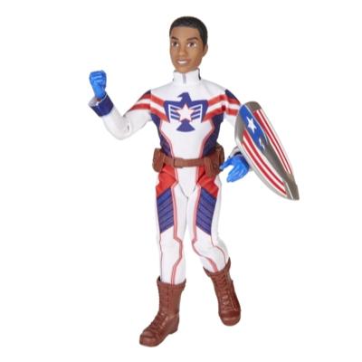 Marvel Rising Secret Warriors Marvel's Patriot Doll