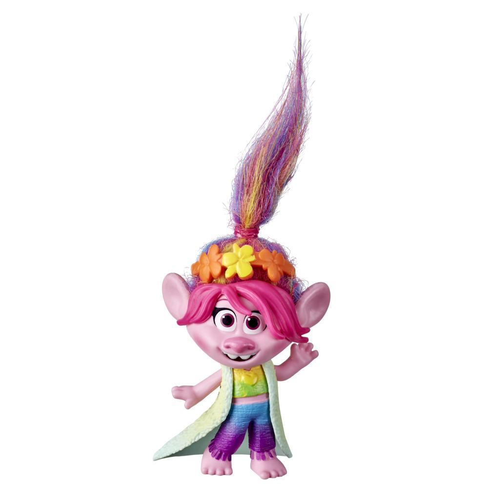 DreamWorks Trolls World Tour Grand Finale Poppy, Doll with Headband Accessory, Collectible Toy Figure, Kids 4 and Up