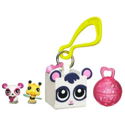 LITTLEST PET SHOP TEENSIES Keychain – Panda and Bee