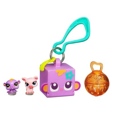 LITTLEST PET SHOP TEENSIES Keychain – Hamster and Pig