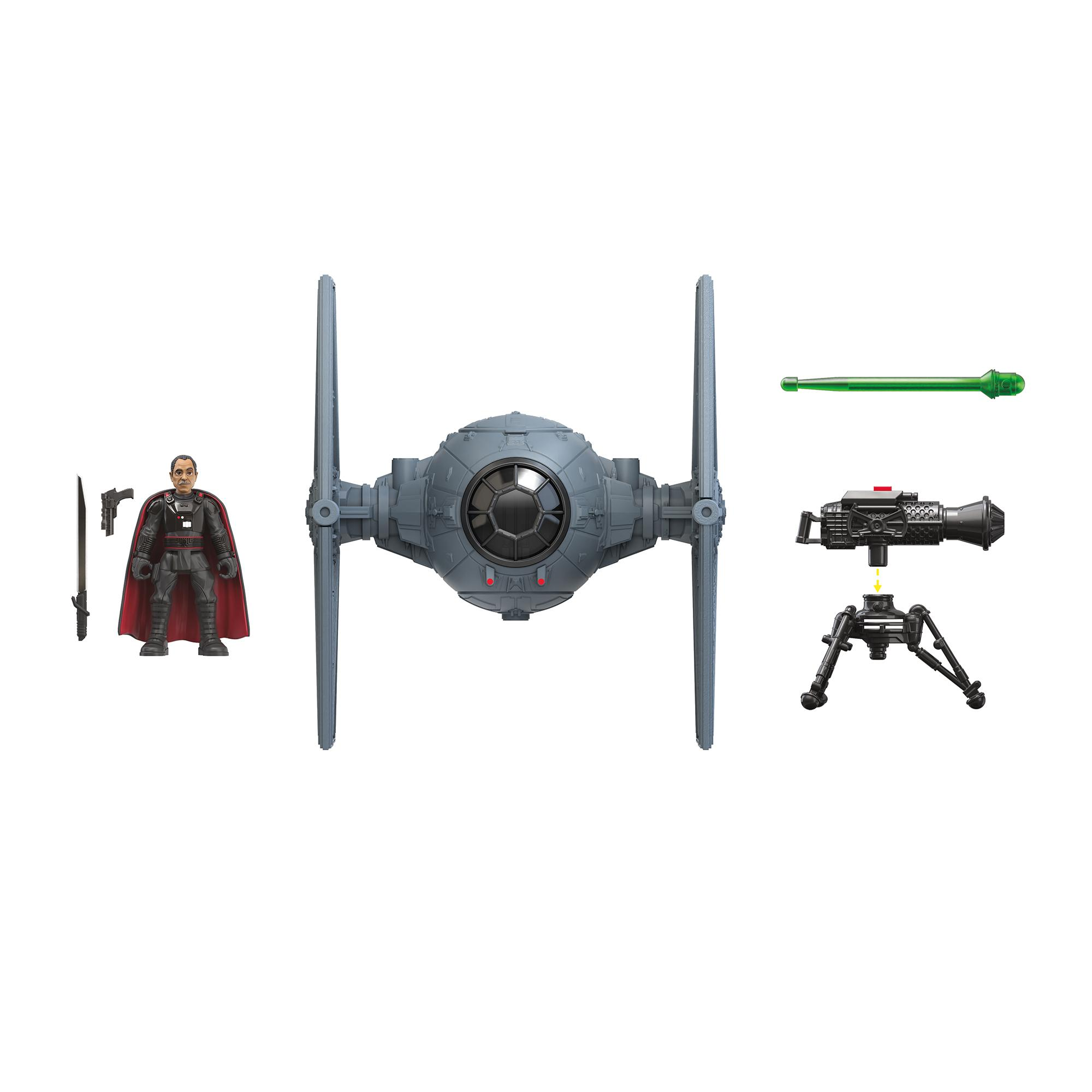 Star Wars Mission Fleet Stellar Class Moff Gideon Outland TIE Fighter Imperial Assault 2.5-Inch-Scale Figure and Vehicle