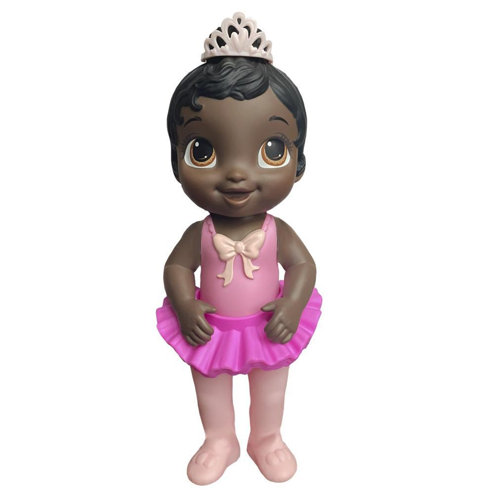 Baby Alive Sweet Ballerina Baby Doll, Pink, Ballet Doll, Tutu Skirt, Tiara, Black Hair Toy for Kids Ages 3 Years and Up