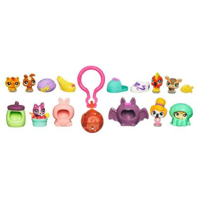 LITTLEST PET SHOP TEENSIES Series 3 Pack (T159-163, 179, 184)