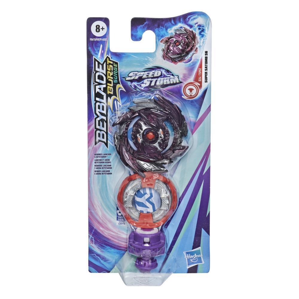 Beyblade Burst Surge Speedstorm Super Satomb S6 Spinning Top Single Pack -- Battling Game Top Toy for Kids