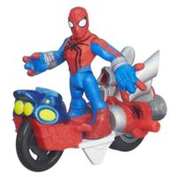 Playskool Heroes Marvel Super Hero Adventures Spider-Man Figure with Web Racer